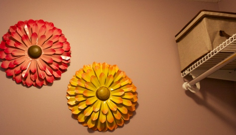 closet flowers