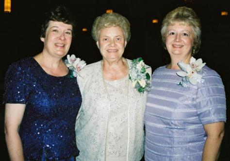 Three pretty ladies